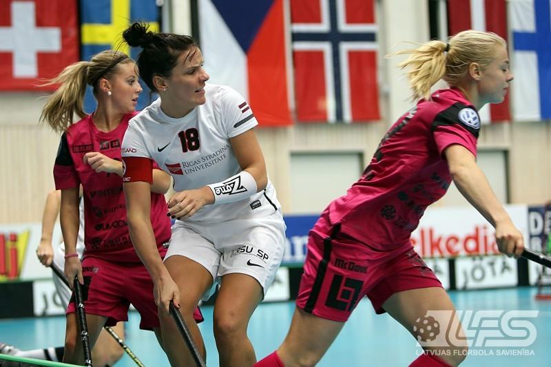 RSU piekāpjas Zviedrijas čempionēm
