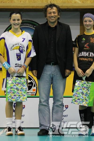"""""""Rubene"""" piekāpjas Slovākijas čempionēm"""