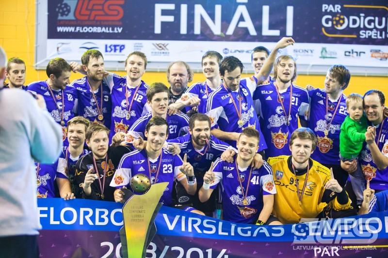 """""""Cēsu alus/Lekrings"""" kļūst par seškārtēju Latvijas čempioni"""