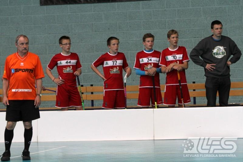 """Pirmo """"Lielvarde Floorball Cup"""" sev patur mājinieki"""