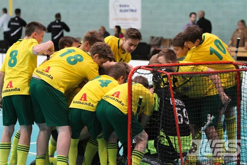 Lielvārdes puiši izcīna Latvijas U14 čempionu titulu