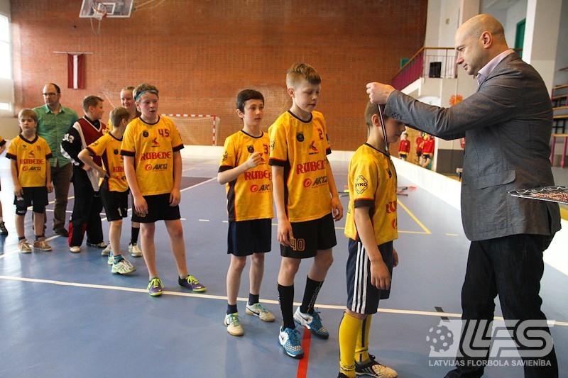 Rubenes puiši atspēlējas un izcīna U12 bronzas medaļas