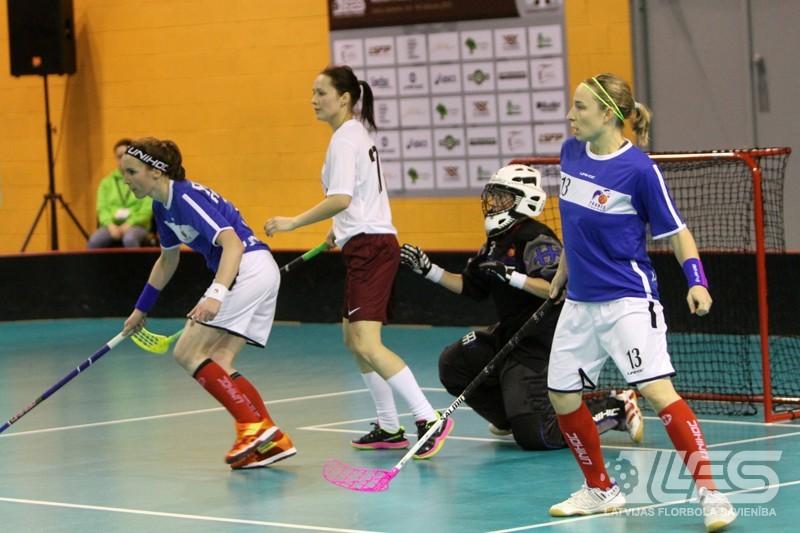 Florbolistēm vēl viena uzvara - ar 15:0 sakauta Francija