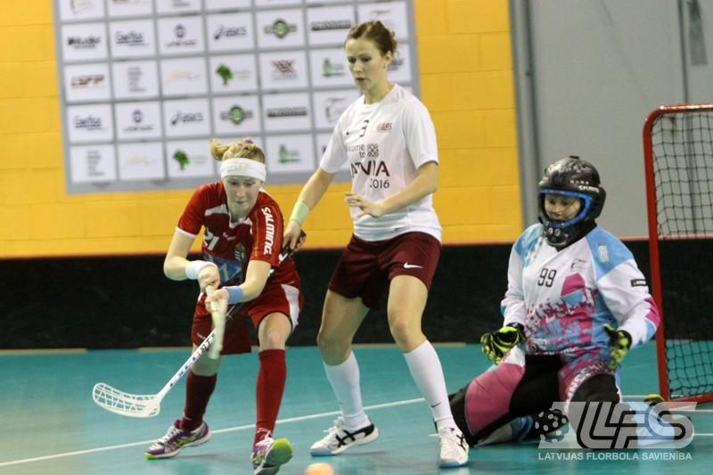 Latvija uzvar Ungāriju un brauks uz pasaules čempionātu