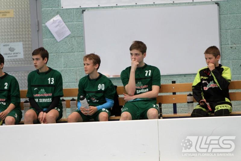 Talsenieki triumfē vecuma grupā U14
