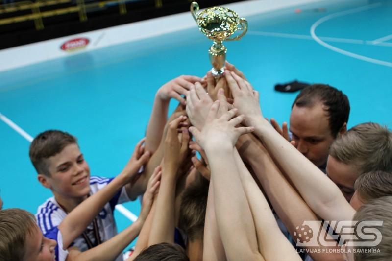 """CPSS/Lekrings"" izcīna bronzu grupā U12"