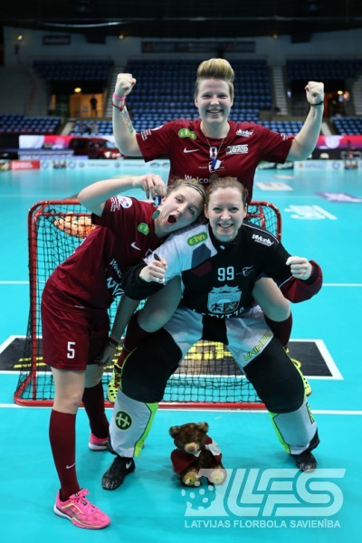 Mūsu meitenes uzvar vācietes un nosargā 5.vietu pasaulē