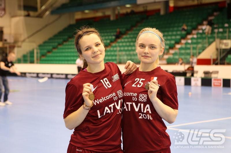 Juniores zaudē slovākietēm un vietu A divīzijā
