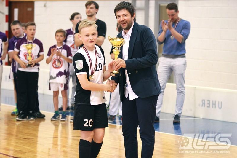 Vecuma grupā ZU11 Latvijas čempioni - liepājnieki