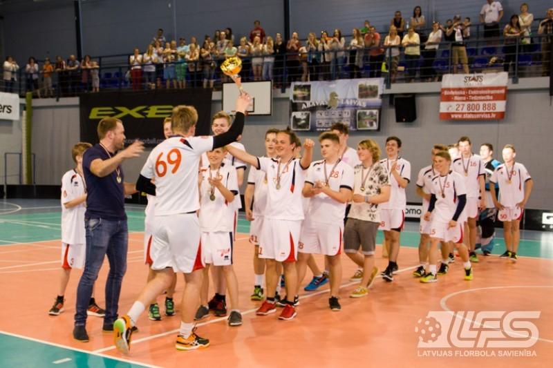 ZU16 2. divīzijas čempioni - kuldīdznieki
