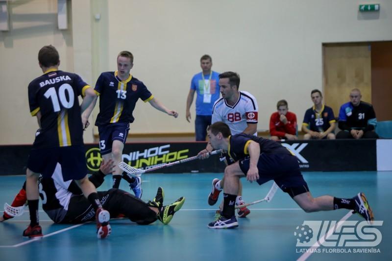 Olimpiādes pusfinālā rīdzinieki salauž Bauskas izlases pretestību