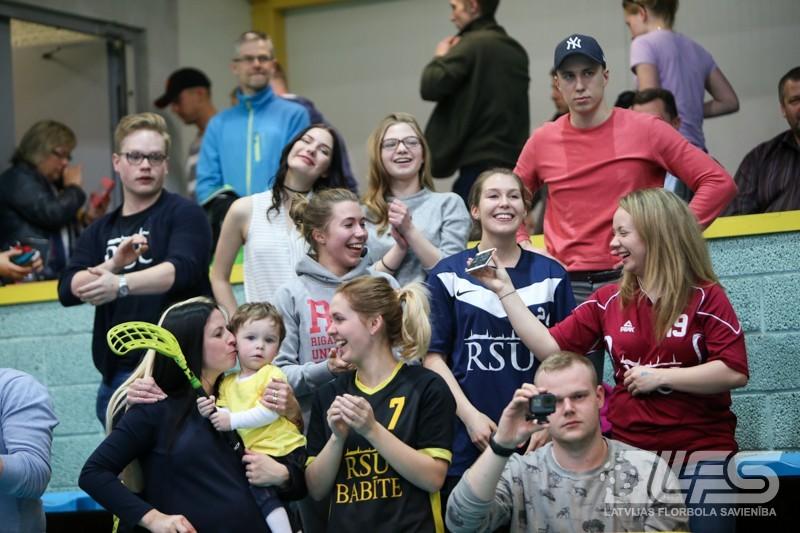 """""""RSU/Babīte"""" fantastiski atspēlējas un kļūst par 1. līgas čempioni"""
