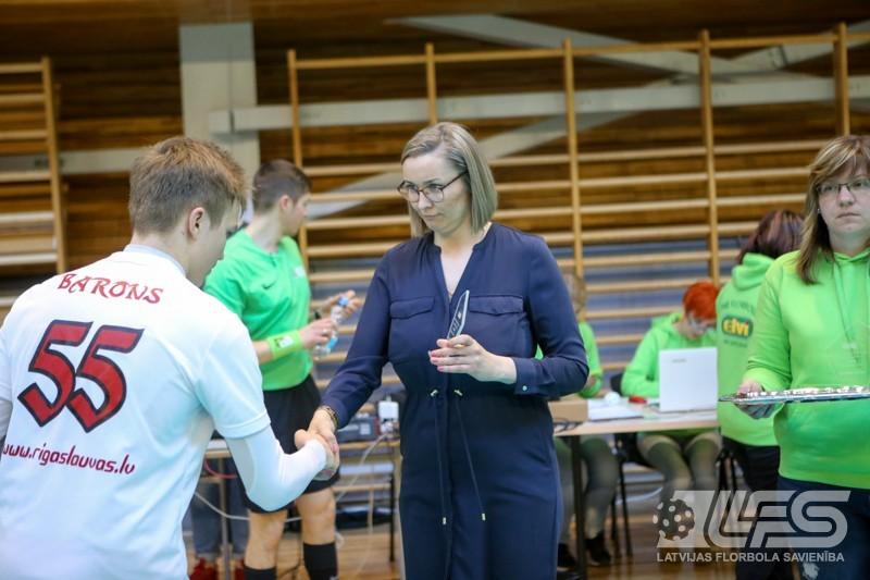 """""""Rīgas Lauvas"""" izrauj uzvaru grupas U16 2. divīzijā"""