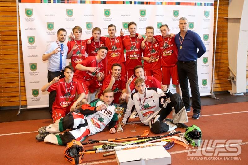 """Par vecuma grupas U16 čempioni kļūst """"Lielvārde"""""""