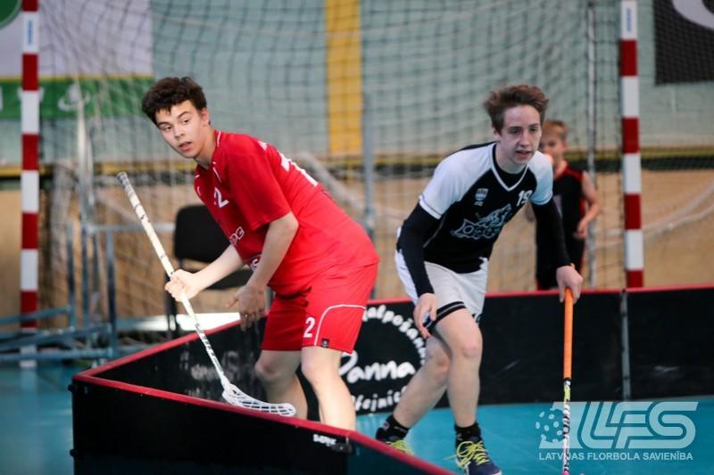 Zināmi Latvijas Jaunatnes olimpiādes dalībnieki florbolā