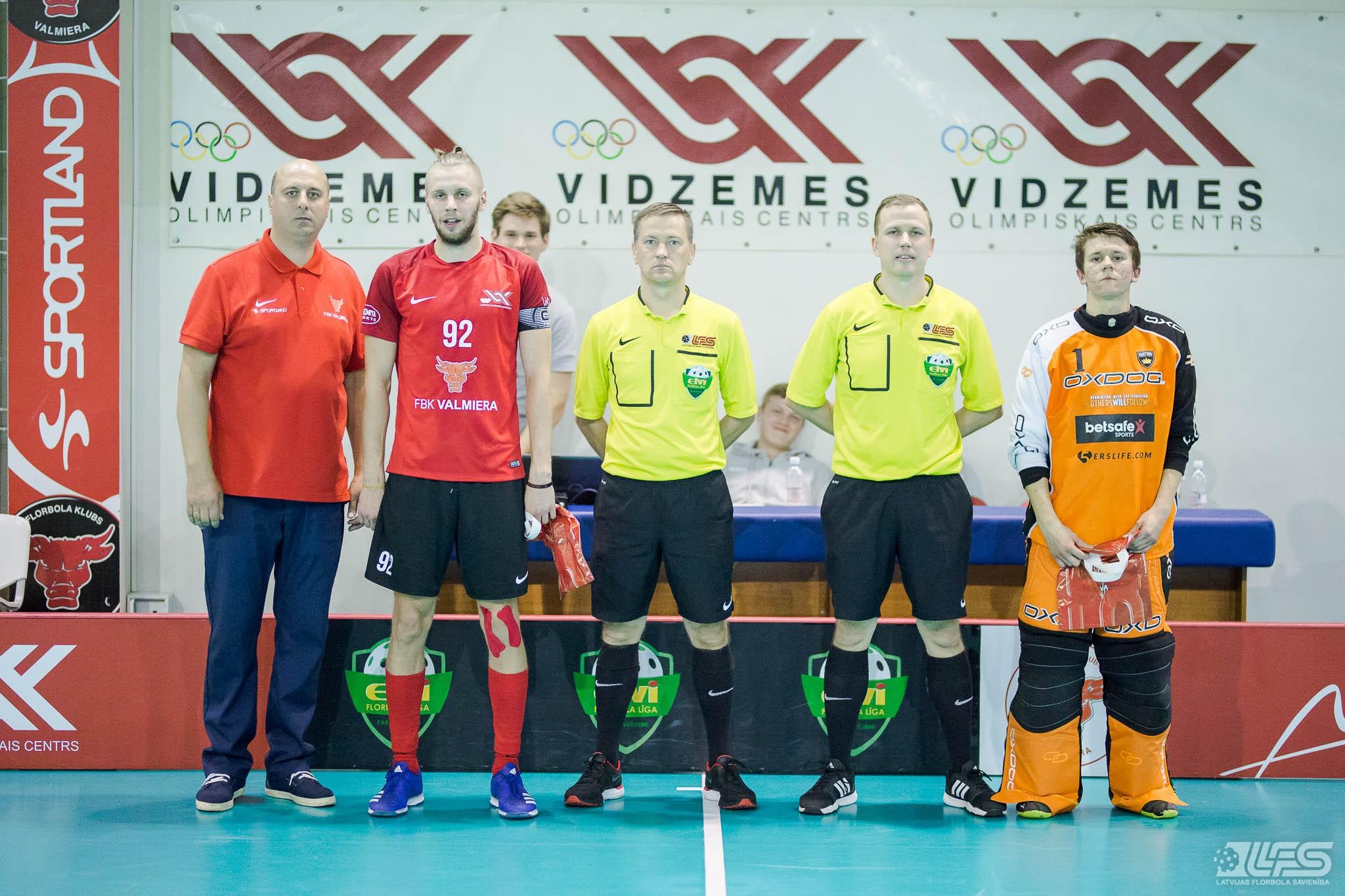 """""""Valmiera"""" sagādā pirmo zaudējumu čempioniem"""