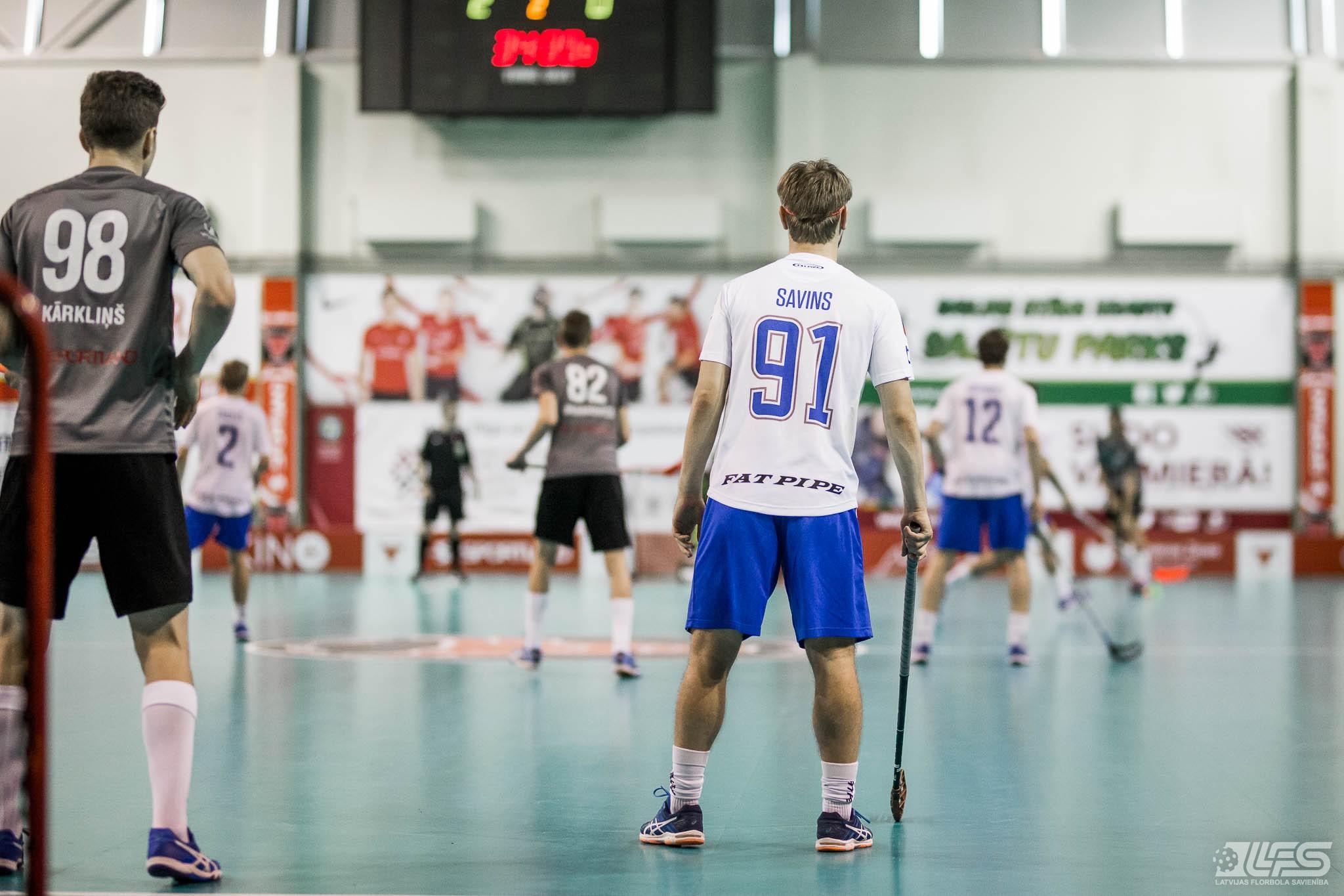 """""""Valmiera"""" nosargā uzvaru un 1. vietu turnīra tabulā"""