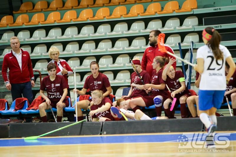 Pret slovākietēm - neizšķirts zaudējuma vērtībā