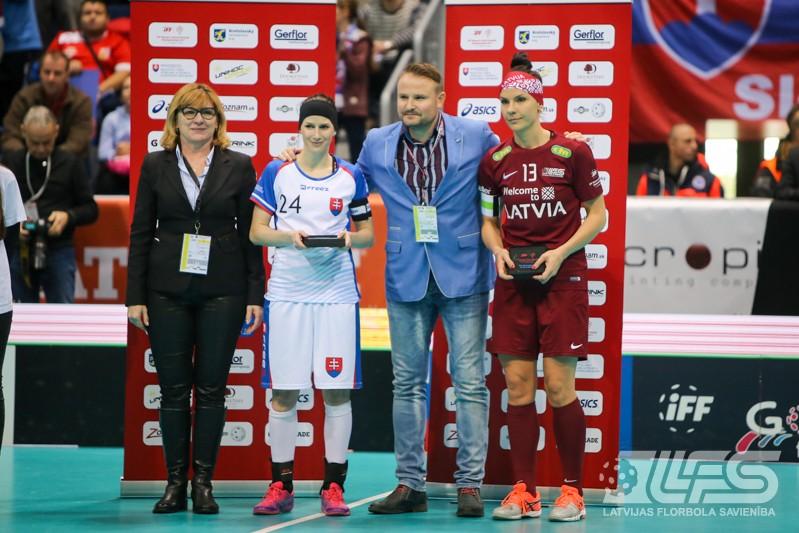 Latvietēm neizdodas izvairīties no slovākiešu revanša, šoreiz 6. vieta