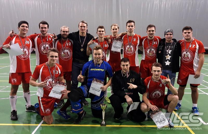 Latvijas Universiādes florbola turnīrā uzvar LSPA