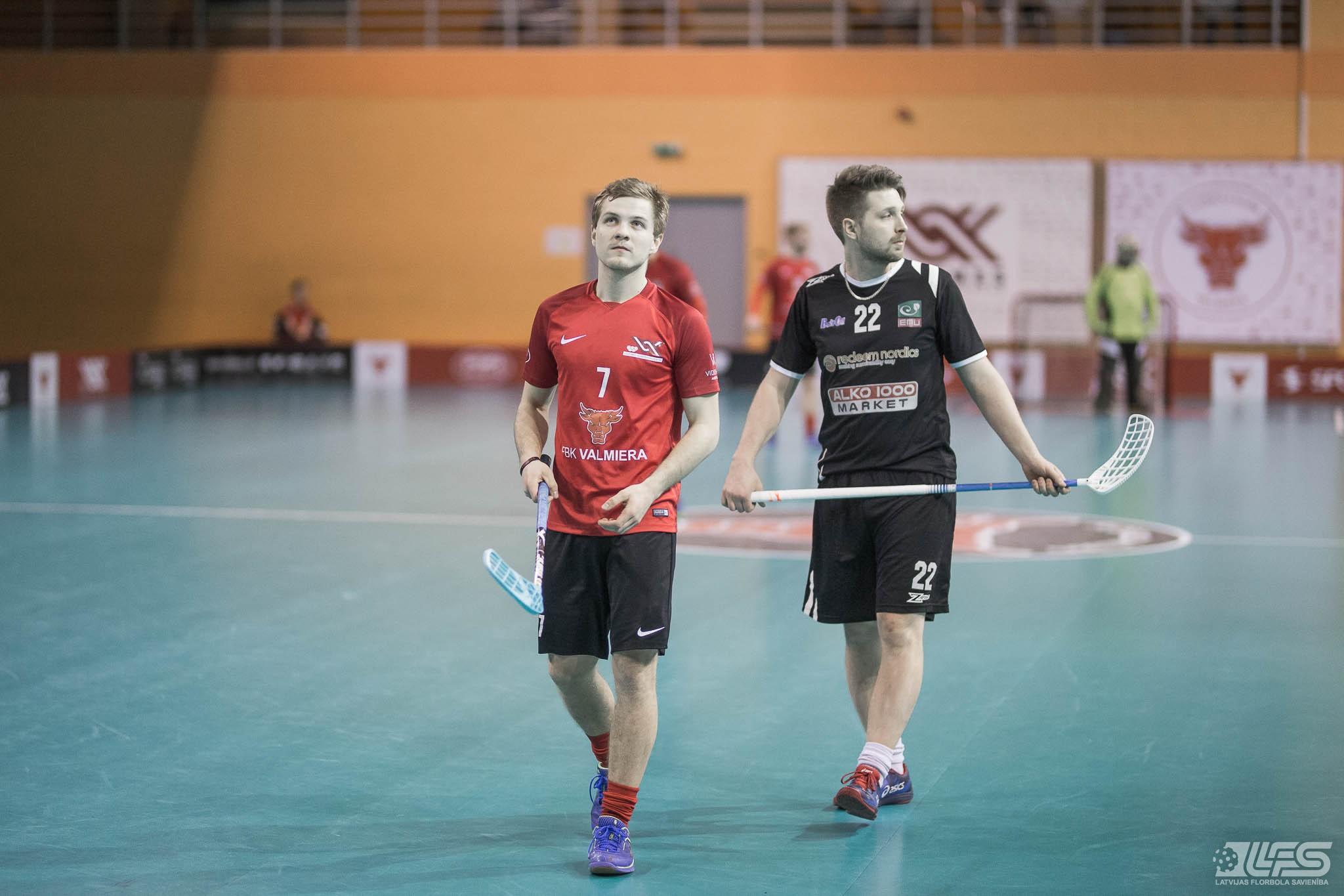 """Valmiera"" sakauj Igaunijas čempionus"