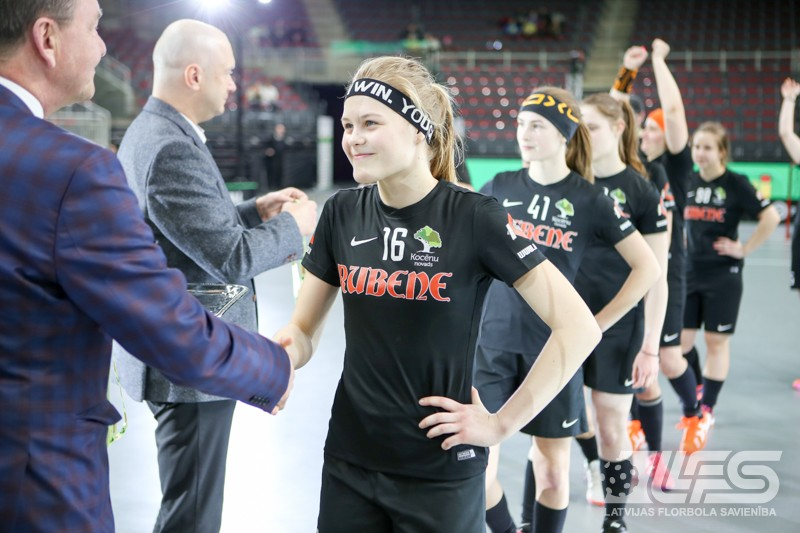 """""""Rubene"""" kļūst par vienpadsmitkārtēju Latvijas čempioni"""