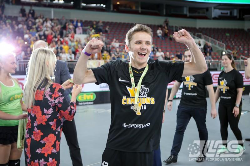 """""""Betsafe/Ulbroka"""" superfinālā pret """"Valmieru"""" nosargā čempiones titulu"""