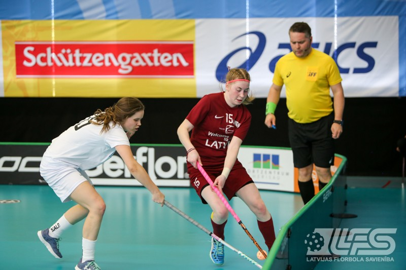 Juniores ar perfektu aizsardzību pārspēj arī ungārietes un iekļūst finālā