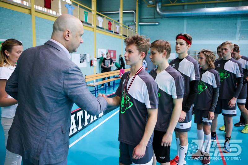 """""""Babīte SK"""" U16 komanda izcīna bronzu 2. divīzijā"""