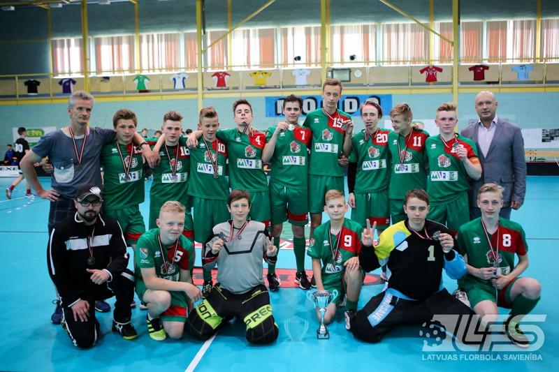"""""""Talsu NSS/Krauzers U16"""" - 2. divīzijas čempione"""