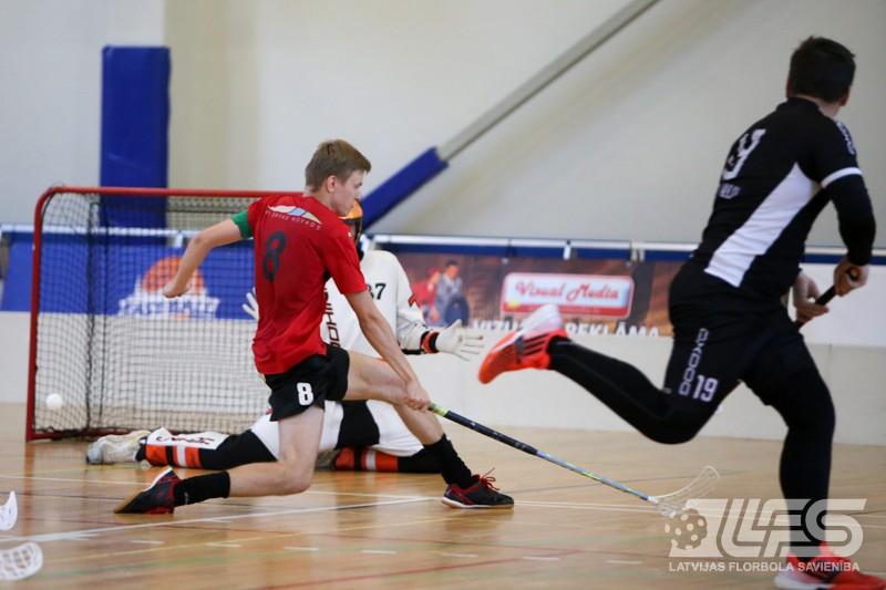Sadalītas Rīgas atklātā čempionāta florbolā medaļas