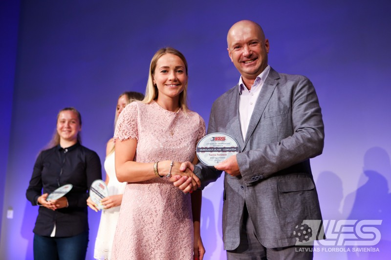 ELVI florbola līgas MVP - Gaugere un Kovaļevskis