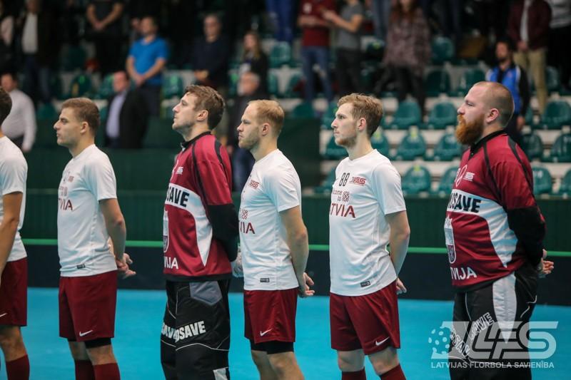 """Latviešiem sāpīgs zaudējums """"bullīšos"""", rīt par 3. vietu - pret norvēģiem"""