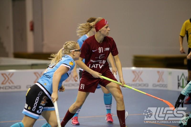 """Sieviešu izlase piekāpjas Lahti komandai """"Pelicans"""""""