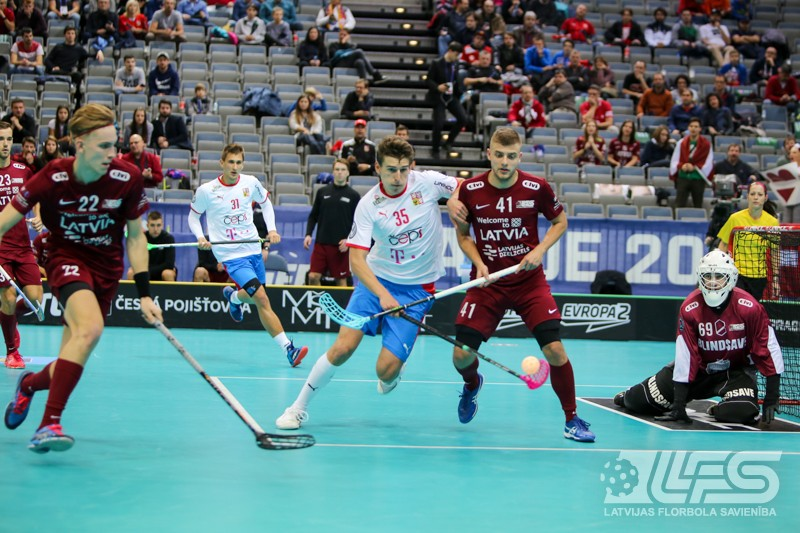 """Latvija uz """"O2"""" grīdas noliek TOP-4 valsti Čehiju"""