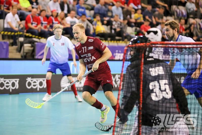 Latvija rāda raksturu un izgrūž norvēģus no pasaules TOP-6