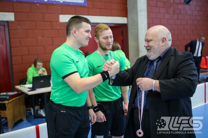 "Vicelīderes bez medaļām, ""FK NND/RJTC"" izkaļ sev bronzu"