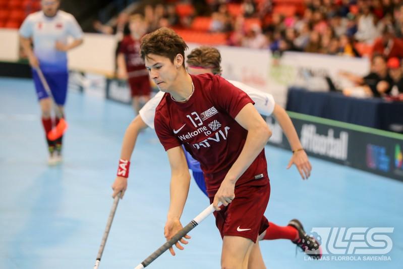 Juniori uzvar norvēģus un piesakās uz pasaules TOP-6