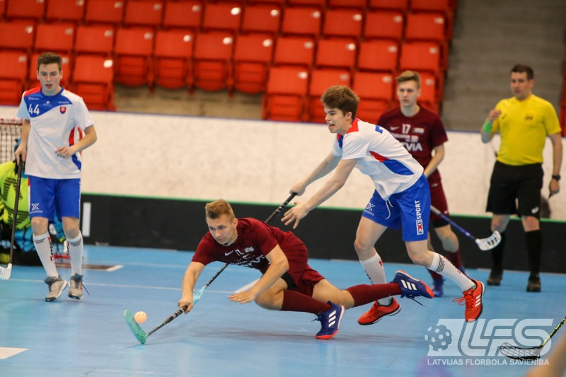 Latvijas juniori uzvar slovākus un nosargā 5. vietu pasaulē