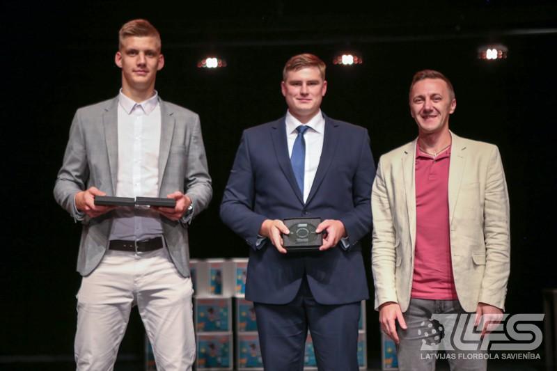 LFS godina labākos spēlētājus, trenerus un tiesnešus