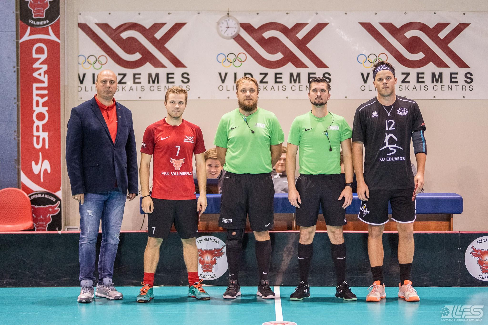 """""""Valmiera"""" ne bez grūtībām salauž debitantes """"Irlava/Avant"""" pretestību"""