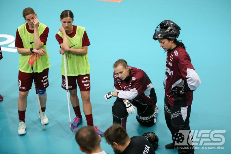 Latvijas izlase ieradusies Neišatelē un aizvadījusi pirmo treniņu